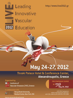 LIVE 2012 - Leading Innovative Vascular Education
